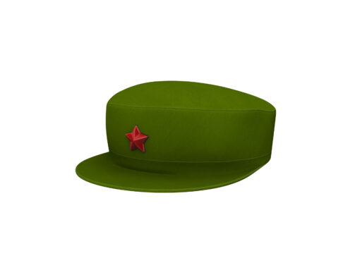 Chinese Army Cap 3d model