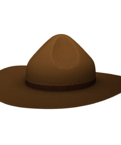 Drill Sergeant Hat 3d model