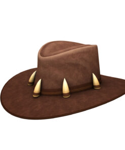 Leather Hat 3d model