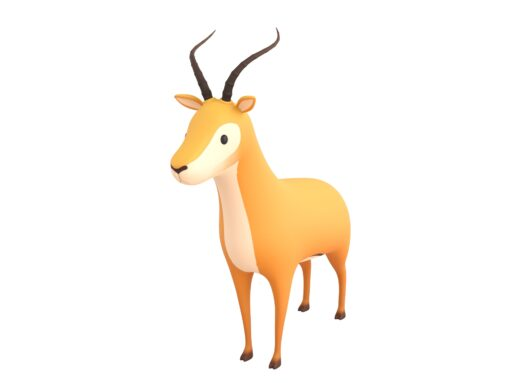 Cartoon Antelope