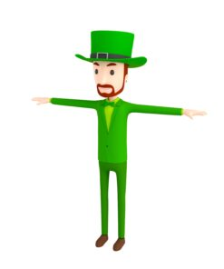 CartoonMan039 Irishman