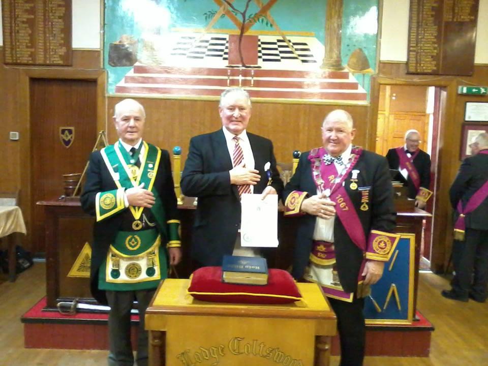 1067 Bill Lang Honorary Rank Presentation 171215