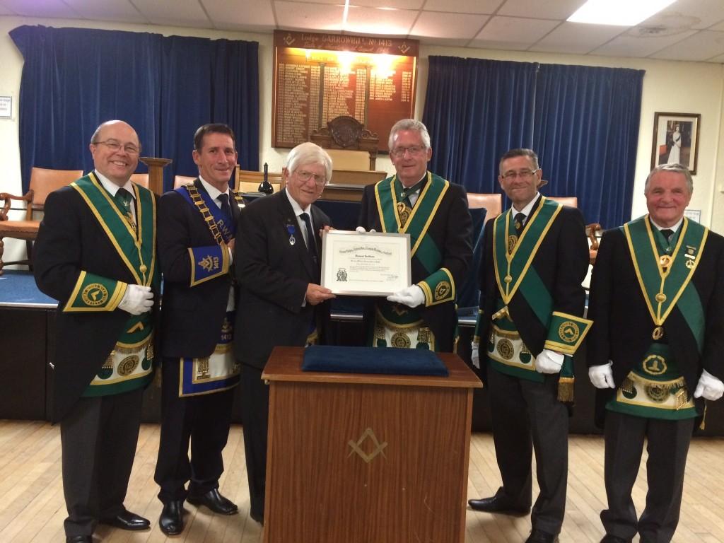 Bill Perry Buchanan 50yr Diploma