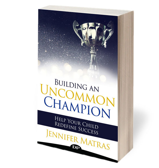 """""""Building An Uncommon Champion"""" book Cover"""
