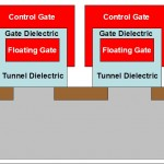 NAND Flash Capped Gate Structure