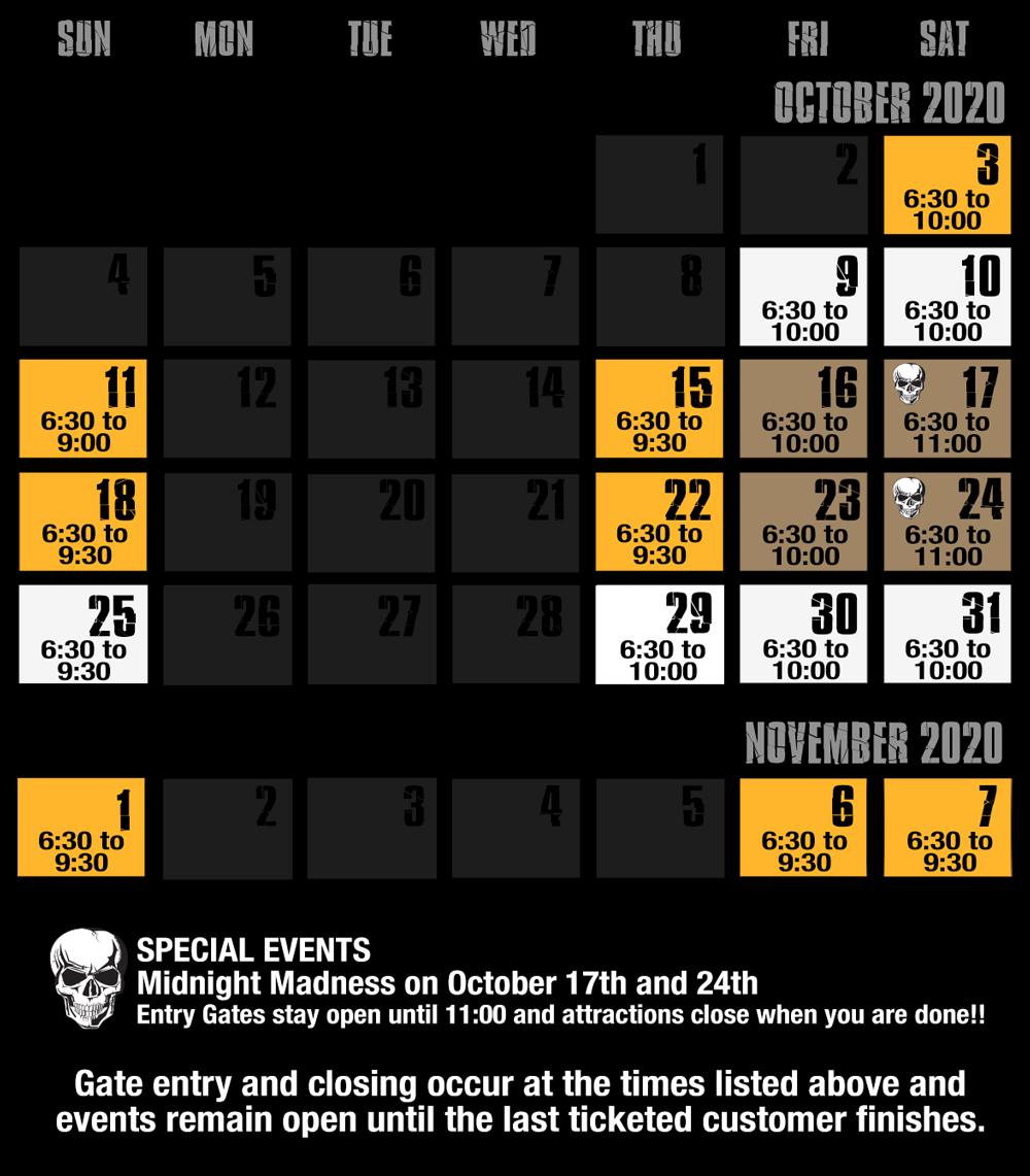 field of screams md calendar 72 2020 v5
