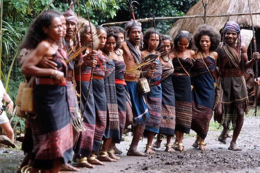 Visit Abui tribe, Takpala Village Alor Island