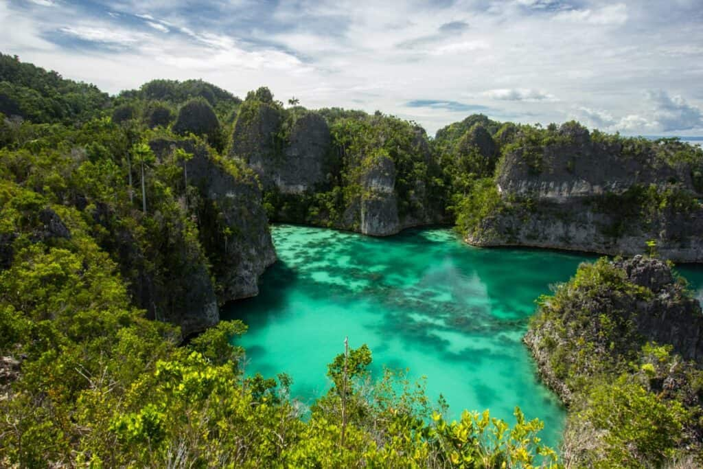 Raja Ampat, West Papua lookout and nature hike