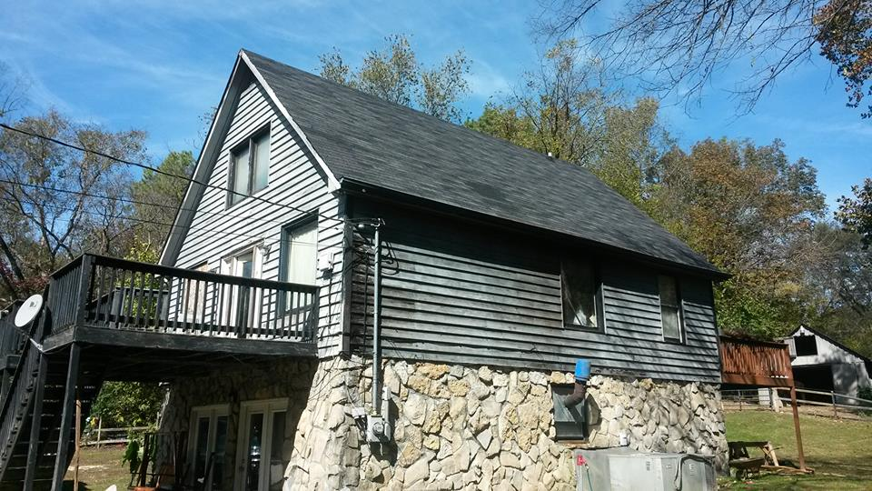 This house is 875 square feet. It requires 18 squares of shingles. The calculator returns 19. That is because it is so simple.