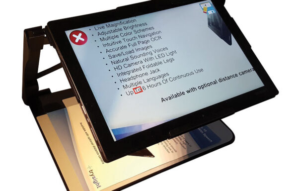 Mercury 12 Laptop Tablet Magnifier with OCR Speech (Trysight)