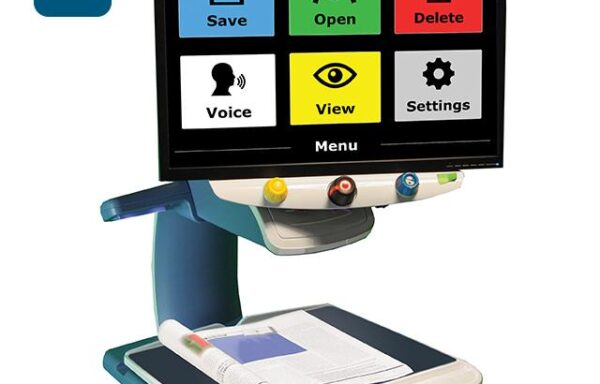 Desktop Magnifiers with Speech (OCR)