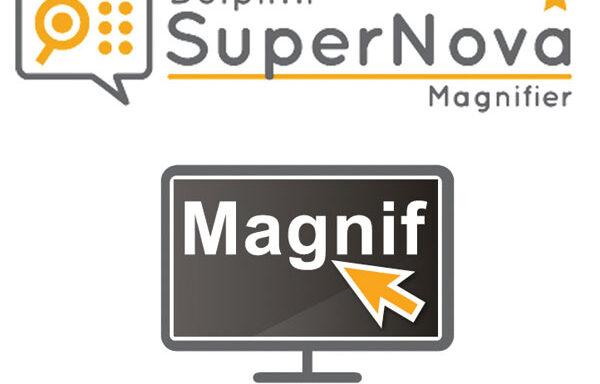 SuperNova Magnifier (Dolphin)