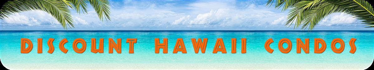 Discount Hawaii Condos - beachfront paradise for rent