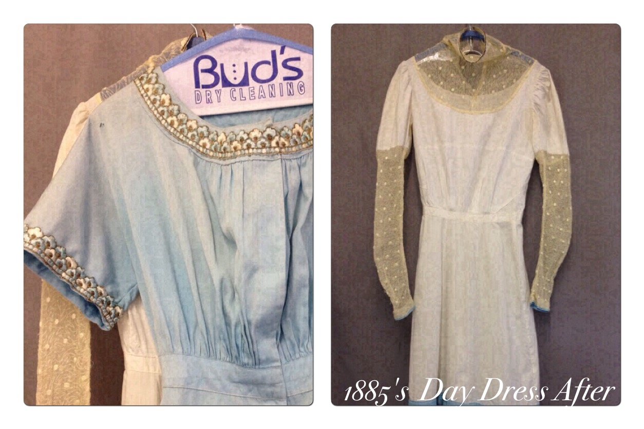 1885 Day Dress After