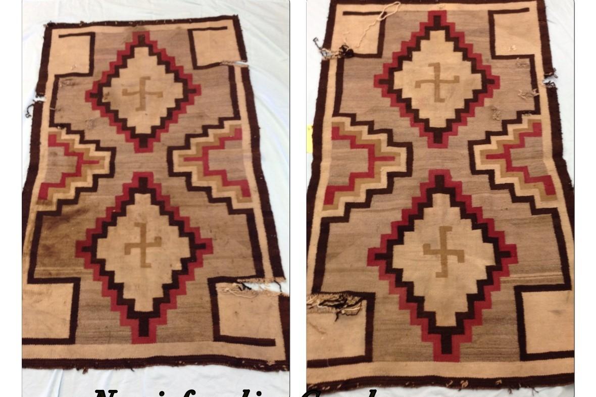Navajo found in a grandmas garage repaired