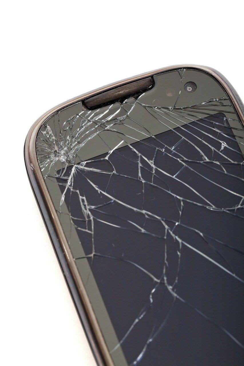 broken, cell phone, cellular