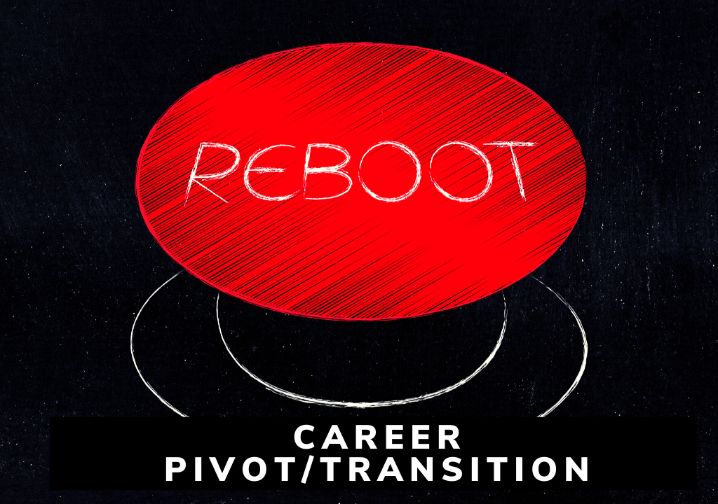 Career Pivot and Transition Button and link to service description.