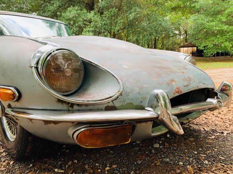 1969 Jaguar XKE - Before Restoration