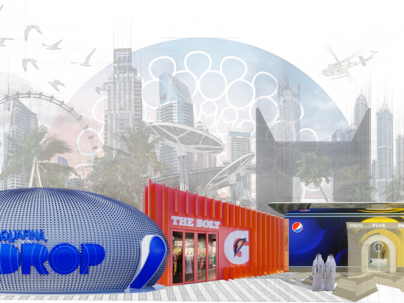 INVNT GROUP Developed Pavilions In Partnership With PepsiCo