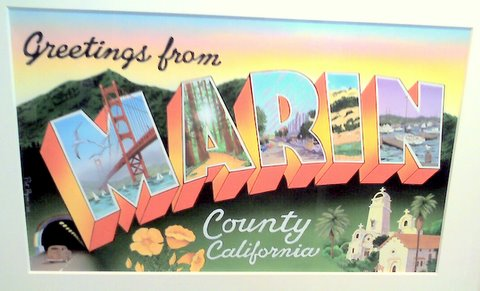 Marin County towns / areas