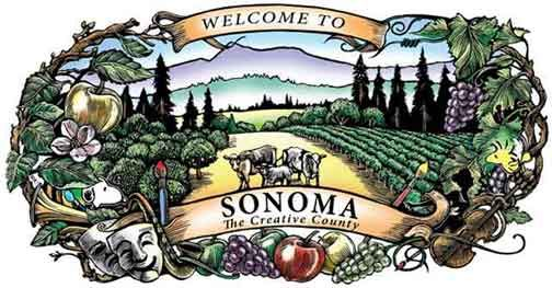 Sonoma County towns / areas
