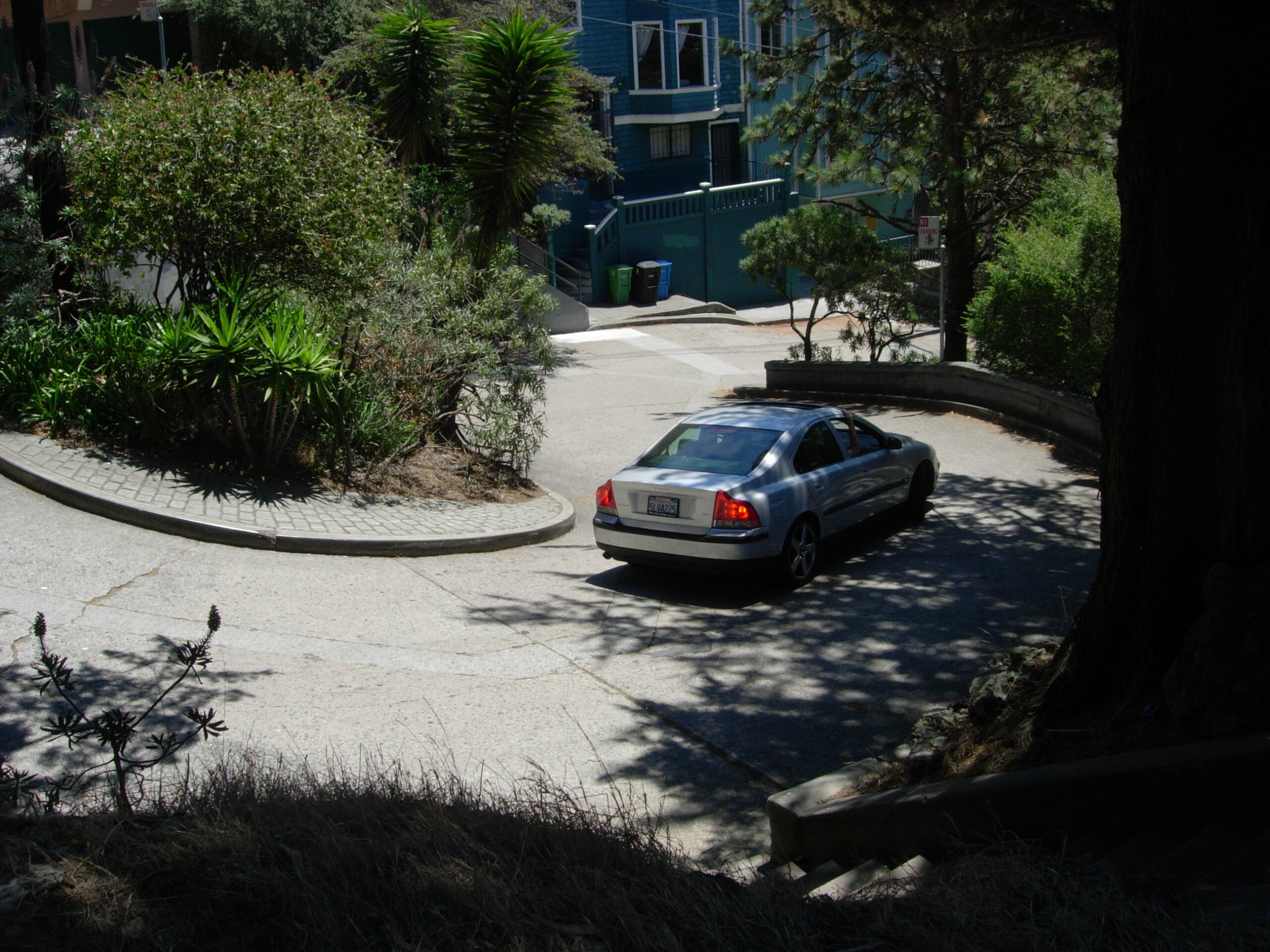 The Real Crookest Street in San Francisco