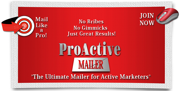 ProActiveMailer Now Has Over 2900 Highly Active Members