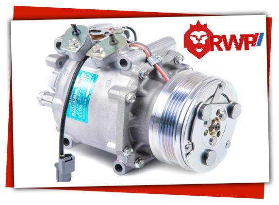 Clutch Type AC Compressor found in Car AC System
