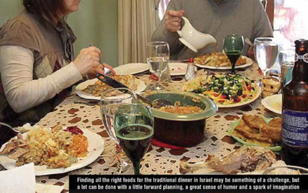 Thanksgiving: Israeli Style