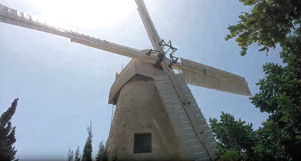 A Visit, a Visionary, a Village and its Windmill
