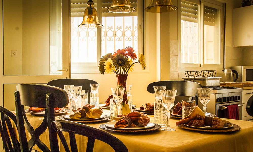 Thanksgiving Table Setting, Jerusalem