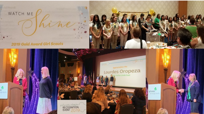 2019 Girl Scouts Of Orange County Recognition Event