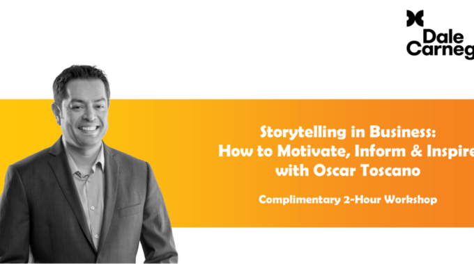 Storytelling In Business: How To Motivate, Inform & Inspire