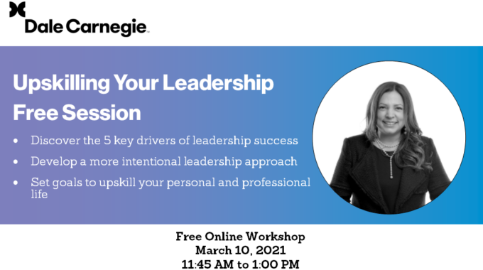 Upskilling Your Leadership Free Trial Session