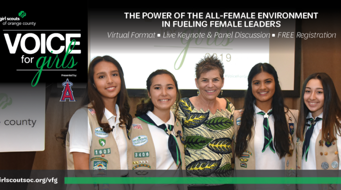 2021 Girl Scouts' Voice For Girls