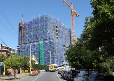 Westside Private Hospital construction tops out hoz web