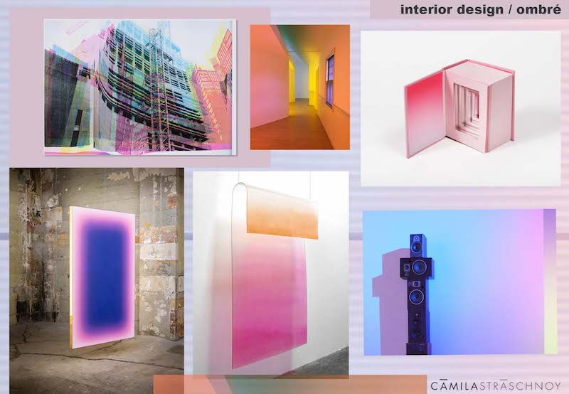 Ombré Trend_Light_Installations