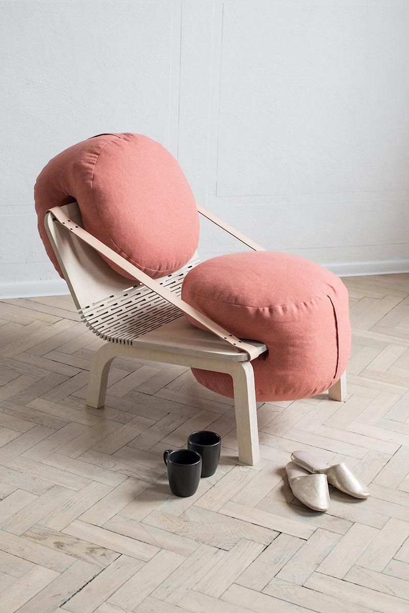 Flexible Armchair by Agnieszka Kowal