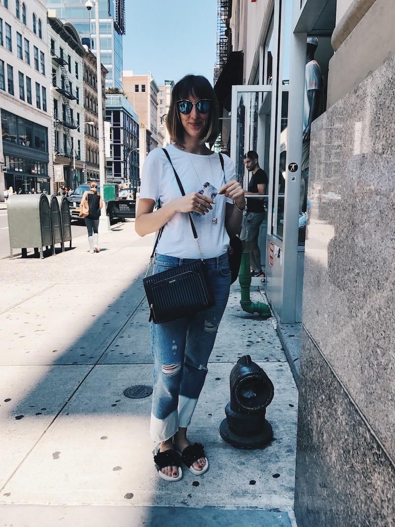 New York Street Style Camila Straschnoy