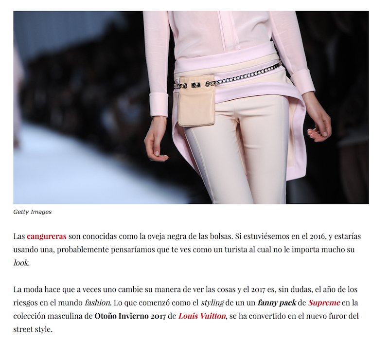 to wear fanny pack by Camila Straschnoy 3