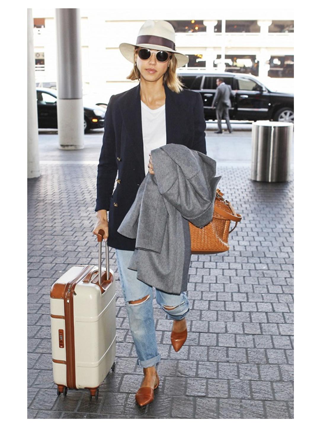 InStyle: Tips para viajar con un carry on únicamente sin perder tu estilo