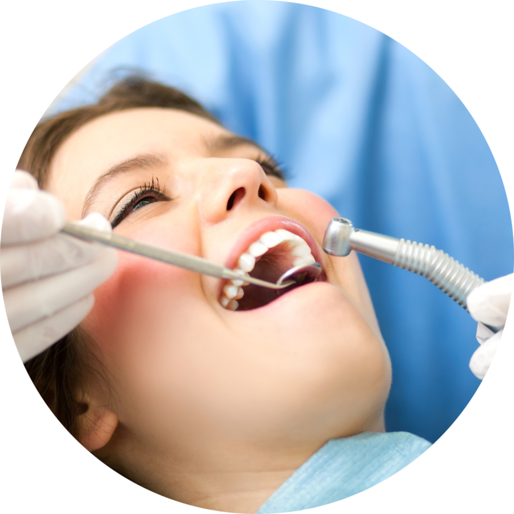 Happy Dental Patient in the Operatory