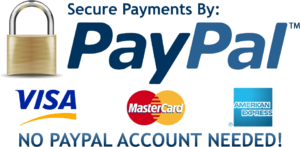 Secure Payments with PayPal logo