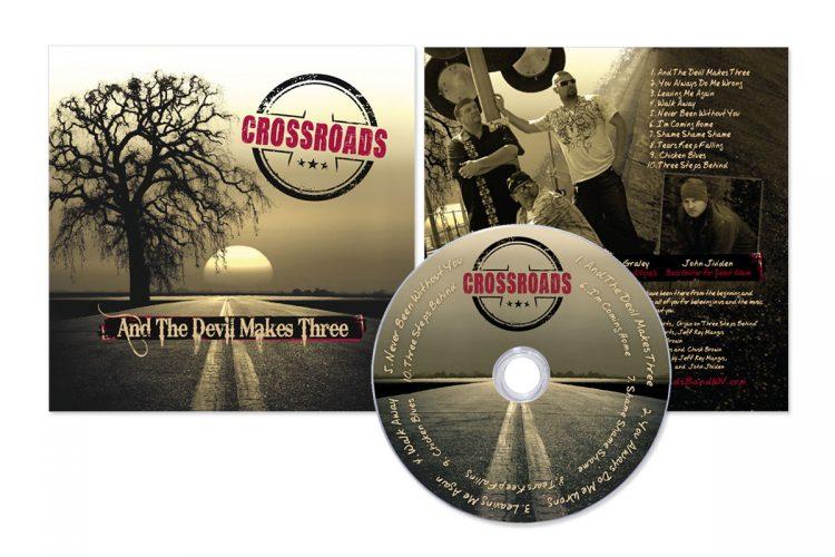 Cross Roads CD Layout