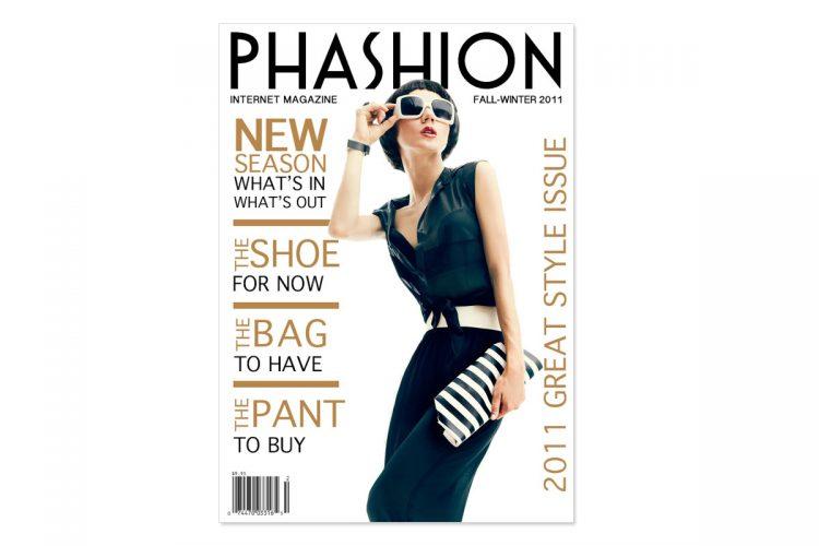 Phashion Mag (Sample) Magazine Cover