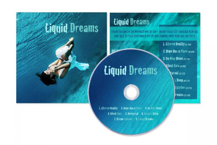 Liquid Dreams CD Layout (Sample)