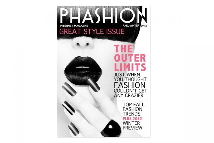 Phashion Magazine (Sample) Cover