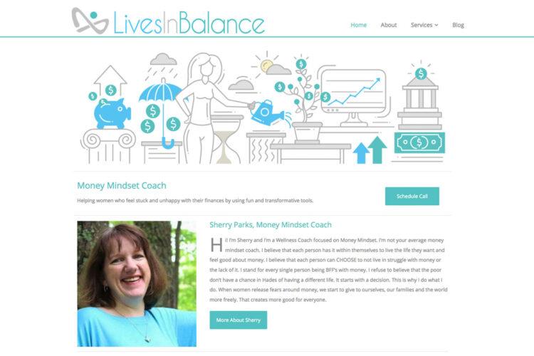 Lives in Balance Website