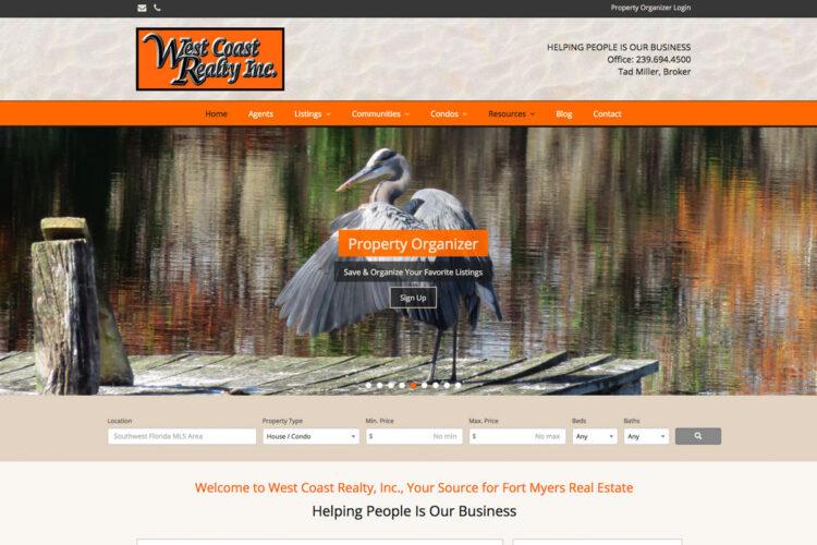 West Coast Realty Website