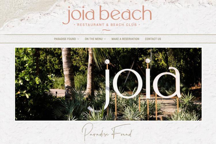 Joia Beach Restaurant and Beach Club